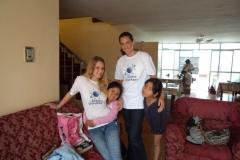 Talia Speaker and Emily Harper in Peru 2012 (2)