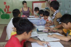 Teaching at a Children's Shelter in Vietnam