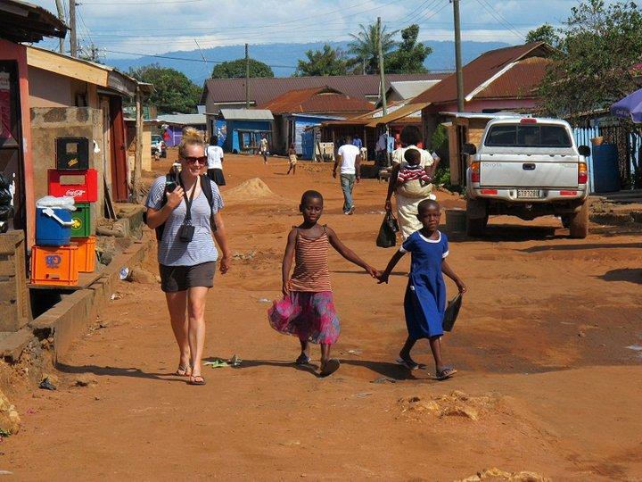 Volunteering in Kpando Ghana