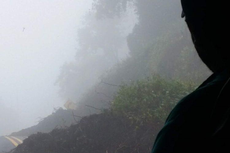 Irazu Volcano Landslide