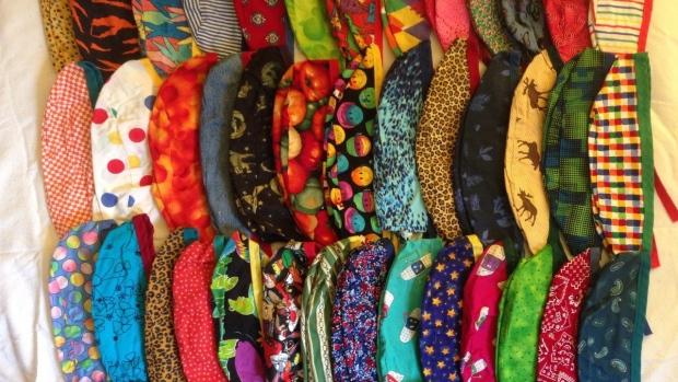 Ghana Cloth Caps