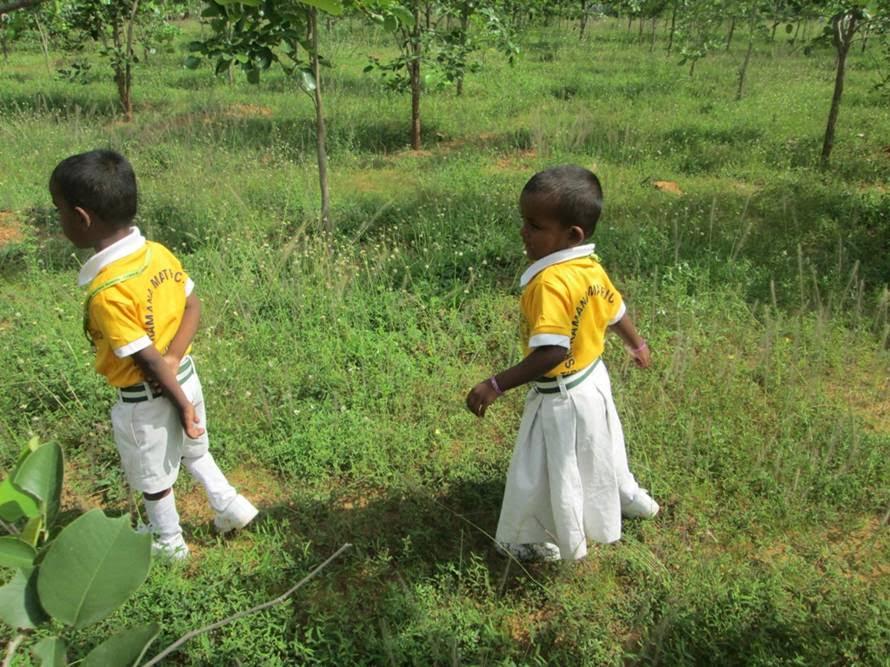 India Teaching Volunteer Wandering