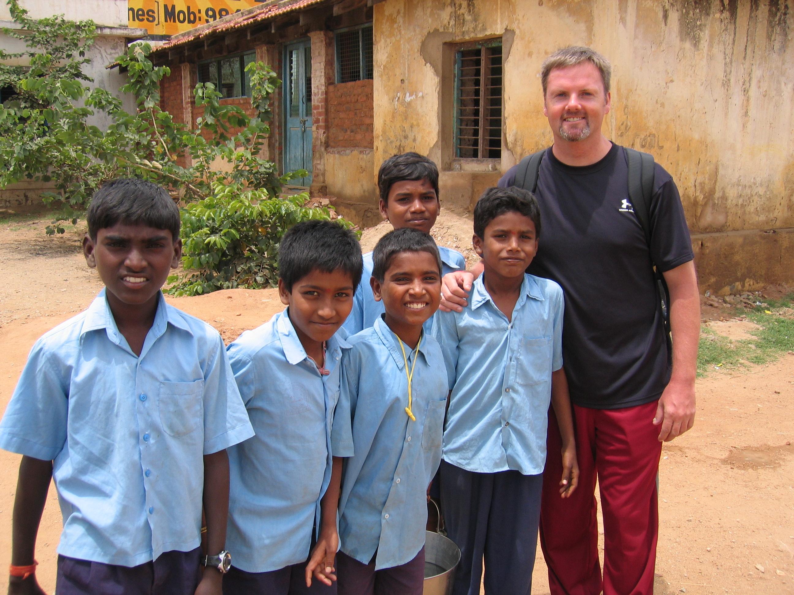 Kengeri School - Scott Burke - Volunteering Bangalore India