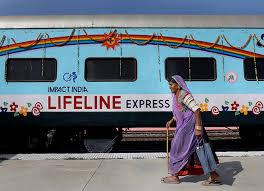India Volunteering Healthcare Train